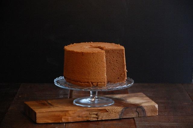 絶品!チョコレートのシフォンケーキ
