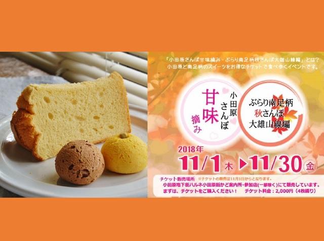 2018.11月小田原さんぽ甘味摘みグリット