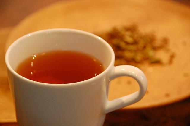 シナモンショウガ茶